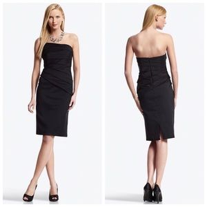 White House Black Market LBD strapless sexy dress!